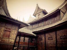 Istana Pagaruyung, Batusangkar - Tanah Datar Sumbar (Backview)