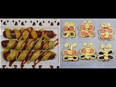 λουκανοπιτάκια με σφολιάτα σε 6 σχέδια & 8 συμβουλές CuzinaGias - YouTube Sausage Pie, Mediterranean Recipes, International Recipes, Hot Dogs, French Toast, Fresh, Food Decorating, Breakfast, Ethnic Recipes