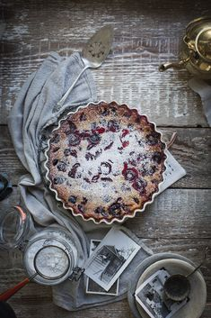 gluten free cherry clafoutis (the ultimate summer dessert!) from Local Milk