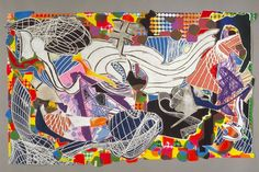 Frank Stella, Monstrous Pictures of Whales 1993