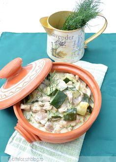 Kapros-cukkinis sertésragu | Ottis főz Meat Recipes, Beef Recipes, Steak Recipes