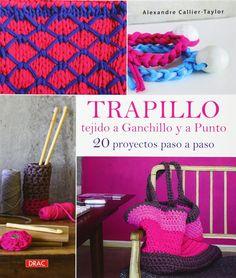 TACHUELAS DIY & CO: Cómo hacer una alfombra de trapillo redonda fácil (PATRÓN GRATIS)