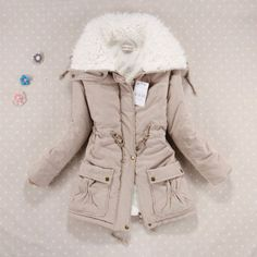 New 2016 Winter Coat Women Slim Plus Size Outwear Medium-Long Wadded Jacket Thick Hooded Cotton Wadded Warm Cotton Parkas