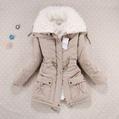 New Winter Coat Women Slim Plus Size Outwear Medium-Long Wadded Jacket Thick Hooded Cotton Wadded Warm Cotton Parkas