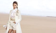 Kenya Kinski Jones by Peter Lindbergh for Ermanno Scervino S/S 2017