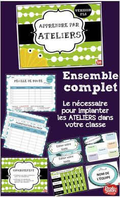 Discover recipes, home ideas, style inspiration and other ideas to try. School Organisation, Classroom Organization, Classroom Ideas, French Teacher, Teaching French, Montessori, Classroom Management Strategies, French Education, Teachers Corner