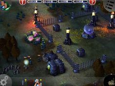 Marine Siege RTS - Night time falls