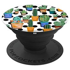 Cactus on Black & White Dots Cute Design School Trends, Buy Cactus, Cute Designs, Free Delivery, Dots, Black And White, Amazon, Phone, Stitches