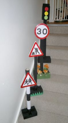 Le Baby Bakery: Road Signs - For Daniels Party