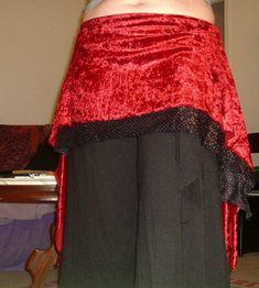 Diy belly dance mini skirt