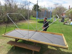homemade roof top tent - Google Search