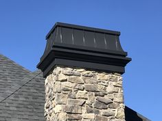 The Chancellor waterproofs and add a cornice trim. The Temptress makes it all beautiful. Chimney King.com