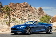 Do you ever dream in Ocellus Teal? I do, and  it looks like the new Aston Martin Vanquish Volante. Every. Damn. Time.