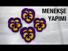 Watch The Video Splendid Crochet a Puff Flower Ideas. Wonderful Crochet a Puff Flower Ideas. Crochet Butterfly Pattern, Crochet Puff Flower, Crochet Flower Tutorial, Crochet Diy, Crochet Hook Set, Easy Crochet Projects, Crochet Home, Love Crochet, Crochet Gifts