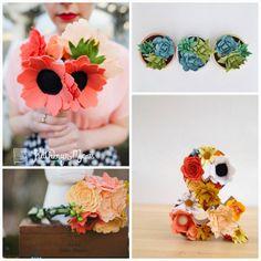 The Felt Flower Shop // link to shop on the blog