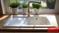Villeroy und Boch Keramikspüle Subway 45 Beckenseite rechts. Die elegante und kompakte Spüle für Ihre Küche. Persönliche Beratung von EUE Hamburg.