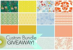 Custom Bundle Giveaway!! by maureencracknell, via Flickr