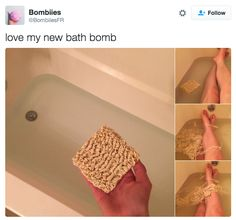 """When the """"bath bomb"""" trend got way out of control. 