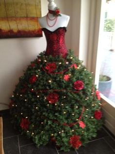 """Bekijk de foto van mevrouwtjesnijders met als titel In plaats van een kerstboom """"een kerstpop"""" en andere inspirerende plaatjes op Welke.nl."""