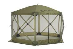Clam Quick Set Escape Portable Camping Gazebo Canopy Shelter Screen (Used) Camping Gazebo, Camping Canopy, Portable Gazebo, Hiking Tent, Outdoor Camping, Camping Ideas, Glamping, Outdoor Spaces, Indoor Outdoor