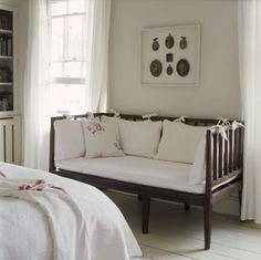 how sweet would it be to convert baby's crib to a little sofa seat for reading