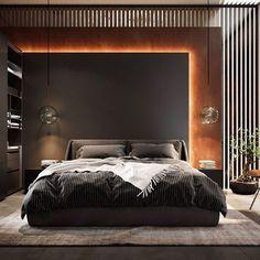 Modern Luxury Bedroom, Master Bedroom Interior, Luxury Bedroom Design, Modern Master Bedroom, Home Room Design, Master Bedroom Design, Luxury Interior Design, Minimalist Bedroom, Luxurious Bedrooms