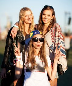 Festival Fashion! #ModelBehavior