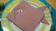 enter image description here Ostern Party, Napkin Folding, Wedding Napkins, Plastic Cutting Board, Fish, Tableware, Hobby, Videos, Image