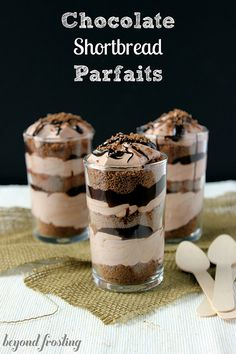 Chocolate and shortbread and parfaits : Beyond Frosting