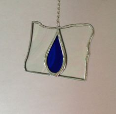 Oregon Shaped Stained Glass Love For Oregon by GlassBlessings