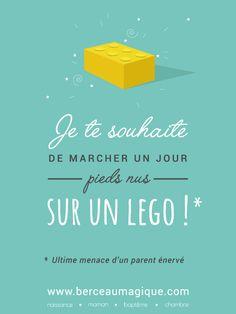 Ouille, ça fait mal ! #citation #berceaumagique #aie #lego #vismaviedeparent #jouet #menace