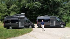 """The 2022 Tellaro is a beautiful, feature-rich camper van that will have you """"doing"""" instead of """"dreaming."""" Stop saying """"someday"""" and venture with confidence to the places you've always dreamed of. Small Campers, Rv Campers, Camper Van, Class B Motorhomes, Class B Rv, Camper Storage, Rv Living, Thor, Recreational Vehicles"""