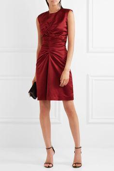 Isabel Marant | Esta ruched satin dress | NET-A-PORTER.COM