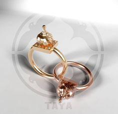 Ring by TAYA - Moscow Domes - at www.facebook.com/byTAYA