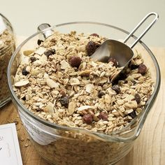 maple-nut granola.