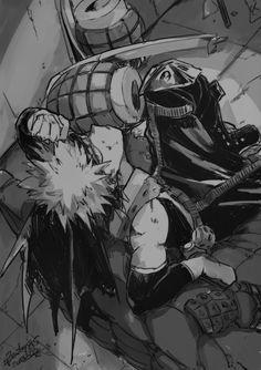 Katsuki Bakugou // Boku No Hero Academia Hero Academia Characters, My Hero Academia Manga, Buko No Hero Academia, Anime Characters, Comic Anime, Anime Art, Me Me Me Anime, Anime Guys, Bakugou Manga