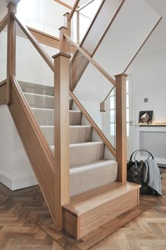 If you want traditional oak & glass staircases to be designed and installed to go with your exiting décor, give us a call Today!
