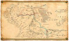 Map of journeys