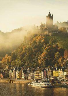 Morning Cochem Germany