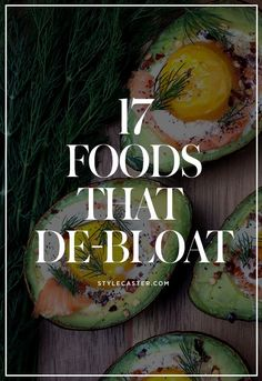 17 Foods that Debloat & It& swimsuit season and no one wants to strap on a bikini with a bloated belly. Here are 17 bloat-fighting foods to avoid and reduce dreaded belly bloat Stylecaster ing detox cleanses, bloating remedies, bloating fast, stomach Non Bloating Foods, Drinks For Bloating, Help With Bloating, Anti Bloating, Bloating Remedies, Foods That Cause Bloating, Get Healthy, Healthy Life, Healthy Living