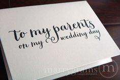 13 thoughtful wedding gifts for parents pinterest parents dads 12 off sale wedding card to your mother or father parents of the bride or groom cards to my parents on my wedding day gift card cs02 junglespirit Images