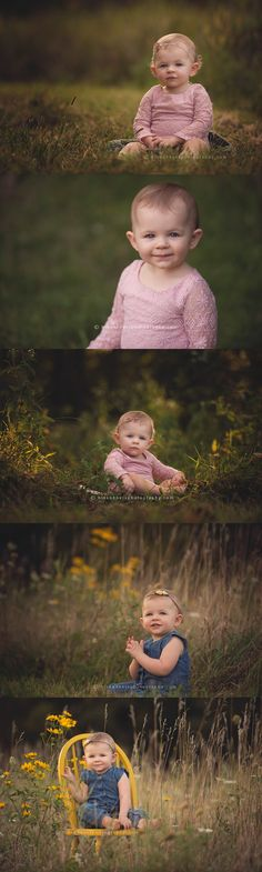 Des Moines, Iowa baby child photographer, Darcy Milder | His & Hers | 1 year old photography session