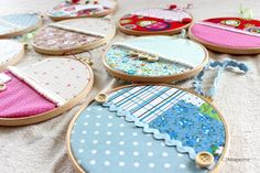 Fabrics, buttons, aromas... and our second Craft Party!!!