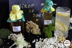 Sirop de soc reteta clasica Desert Recipes, Deserts, Cooking Recipes, Table Decorations, Home Decor, Syrup, Canning, Salads, Decoration Home