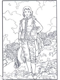 If i ever need coloring pages of famous paintings i don for Nina needs to go coloring pages