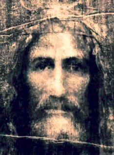 Face of Christ based on the Turin Shroud