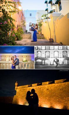 Sesión Love Story En Viejo San Juan y El Morro, Puerto Rico