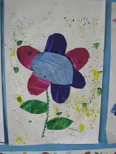 inspired by The Tiny Seed by Eric Carle