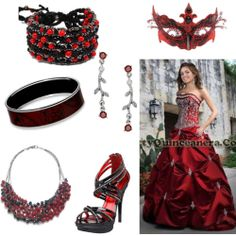 Masquerade Ball Gowns | Red Masquerade Ball Gown - Polyvore