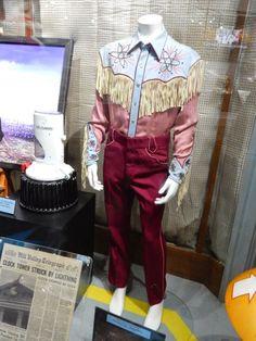Michael J. Fox Back to the Future 3 film costume